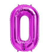 "34"" Foil Balloon Chain Deco Link (Chain Link)- Magenta"