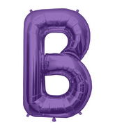 "34"" Northstar Brand Packaged Letter B - Purple"