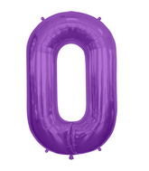 "34"" Northstar Brand Packaged Letter O - Purple"