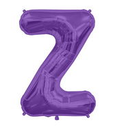 "34"" Northstar Brand Packaged Letter Z - Purple"