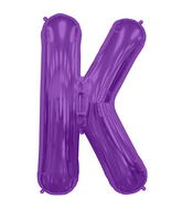"34"" Northstar Brand Packaged Letter K - Purple"