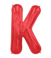 "34"" Northstar Brand Packaged Letter K - Red"