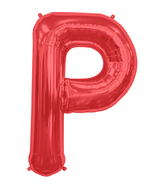 "34"" Northstar Brand Packaged Letter P - Red"