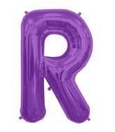 "34"" Northstar Brand Packaged Letter R - Purple"
