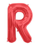 "34"" Northstar Brand Packaged Letter R - Red"