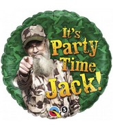 "18"" Duck Dynasty It&#39s Party Time Jack"