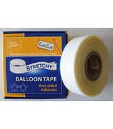 Stretchy Balloon Tape(25Ft/7.6M Per Roll)