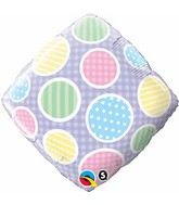 "18"" Polka Dots Accent Patterns Packaged"