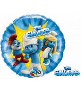 "18"" The Smurfs - Clumsy, Grandpa & Smurfette Balloon"