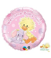 "18"" Witzy and Ellie Funt Baby Welcome Baby Girl"