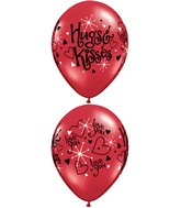 "11"" Love You Hugs & Kisses Around (50 Count)"