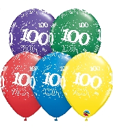 "11"" Special Assorted 50 Count 100 All Around Latex Balloons"
