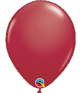 "11"" Qualatex Latex Balloons 25 Per Bag  Maroon"