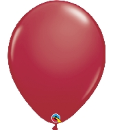 "16"" Qualatex Latex Balloons  Maroon 50CT"