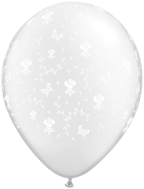 "5"" Flowers-A-Round Diamond Clear (100 ct.)"