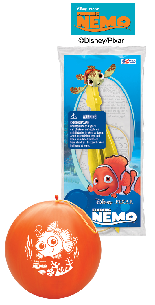 "14"" Finding Nemo 1 ct. Punch Ball"