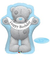 "36"" Happy Birthday Tatty Teddy Bear Balloon"