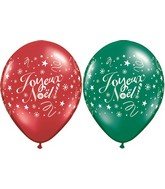"11"" Joyeux Noel Festivite Assortment (50 Count)"