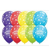 "11"" Happy Birthday To You Music Assorted (50 ct.)"