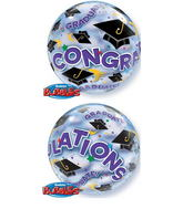 "24"" Congratulations Grad Bubble Balloon"