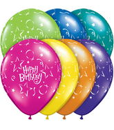 "11"" Birthday Stars & Balloons Fantasy Assortment (50 ct.)"