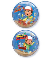 "22"" Handy Manny Licenced Character Bubble Balloons"
