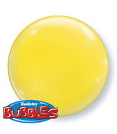 "15"" Yellow Self Sealing Stretchy Plastic Balloon (4 ct.)"