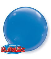 "15"" Dark Blue Self Sealing Plastic Balloon (4 ct.)"