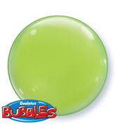 "15"" Lime Green Self Sealing Plastic Balloon (4 ct.)"