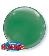 "15"" Green Self Sealing Stretchy Plastic Balloon (4 ct.)"