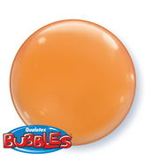 "15"" Orange Self Sealing Stretchy Plastic Balloon (4 ct.)"