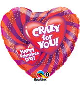 "18"" Crazy For You Valentine"