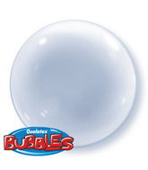 "15"" Clear Self Sealing Stretchy Plastic Balloon (4 ct.)"