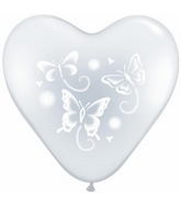 "15"" Wispy Butterflies Diamond Clear (50 ct.)"