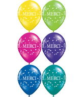 11 Merci merci confettis assortiment de fantaisie 50s
