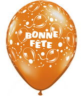 11 Ballons scintillants po. assortiment de fantaisie 50s