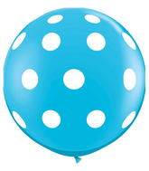 "36"" Big Polka Dots Robin�s Egg Blue (2 ct.)"