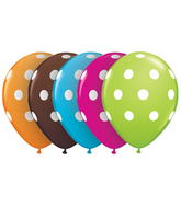 "16"" Big Polka Dots Assorted (50 ct.)"