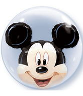 "24"" Mickey Mouse Licenced Character Bubble Balloons"