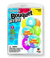7 Balloons  Birthday Sea Creatures Bouquet