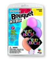 "7 Balloons You Rock 18"" Bouquet"