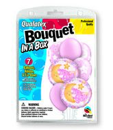 "7 Balloons It�s A Girl Celestial 18"" Bouquet"