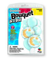 "7 Balloons It�s A Boy Celestial 18"" Bouquet"