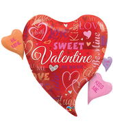 "44"" Sweet Valentine Messages"
