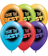 "11"" You&#39re the Best Red Hot Assortment (2-Sided) 5 count"