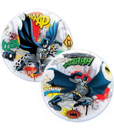 "22"" Over Gotham Licenced Character Bubble Balloons"