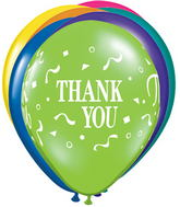 "11"" Thank You Confetti Fantasy Assortment (50 Count)"
