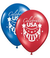 "11"" Celebrate Usa Sapphire & Ruby 50 Count"