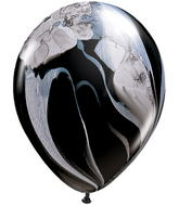 "11"" Qualatex  Black Agate 100 Count"