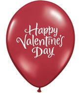 "11"" Valentine&#39s Script Latex Balloons (50 Count)"
